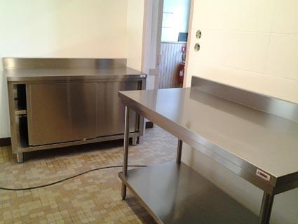 Comptoirs cuisine salle agora