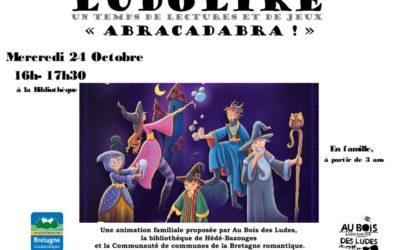 thumbnail of Affiche Ludolire Abracadabra Hédé-Bazouges