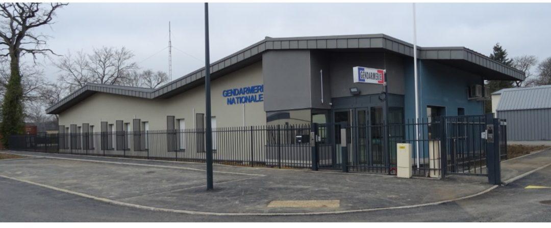 Inauguration de la nouvelle gendarmerie